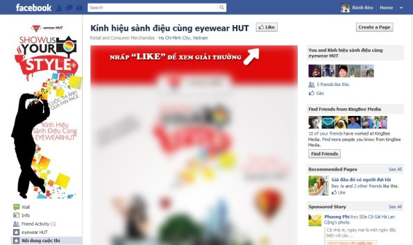 "Một cách ""dụ dỗ"" Like của Fan page"