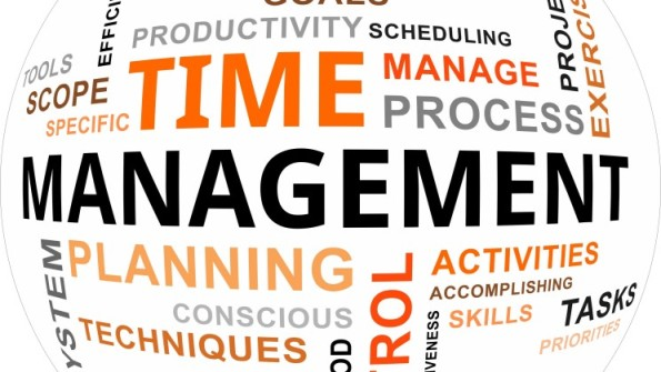 word cloud - time management